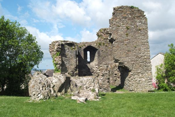 Loughor Castle keep